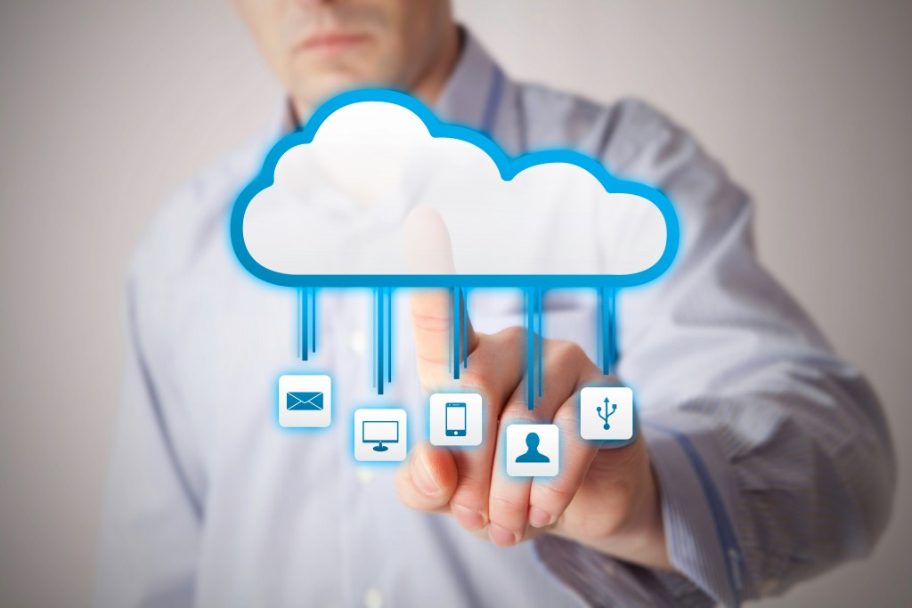 Interacting with cloud applications